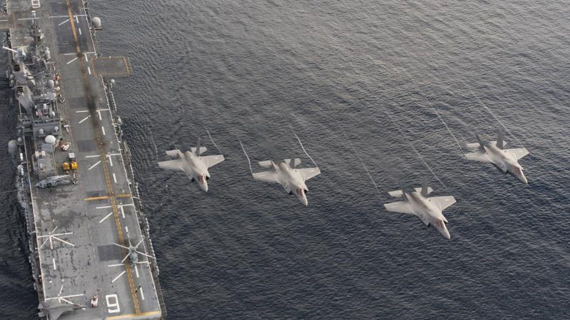 Etter at de fikk nytt radarsystem, begynte pilotene i 2014 å rapportere om flere UFO-er til sine overordnede.