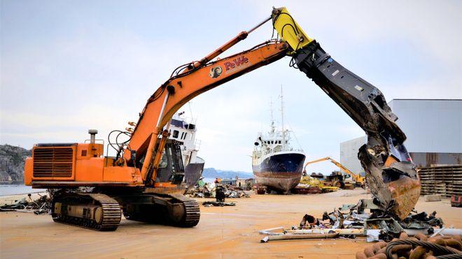 Mens norske skip skrapes på asiatiske strender, vil Bergens-bedriften hugge dem opp helt uten miljøutslipp