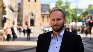 Sverre Senneset, salgsdirektør i Uni Micro.