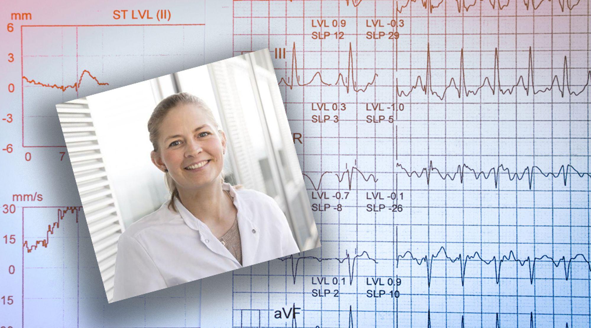 Lege og ph.d. Michala Herskind Sejr har undersøkt om loop recorders egner seg som diagnostisk verktøy i forbindelse med utredning av forkammerflimring. Men utstyret er for følsomt og «finner» derfor feilaktig for mange pasienter med forkammerflimring.