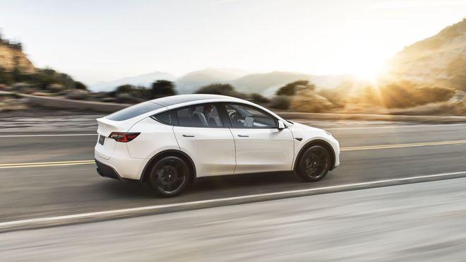 Tesla Model Y er den nyeste modellen fra den amerikanske bilprodusenten.
