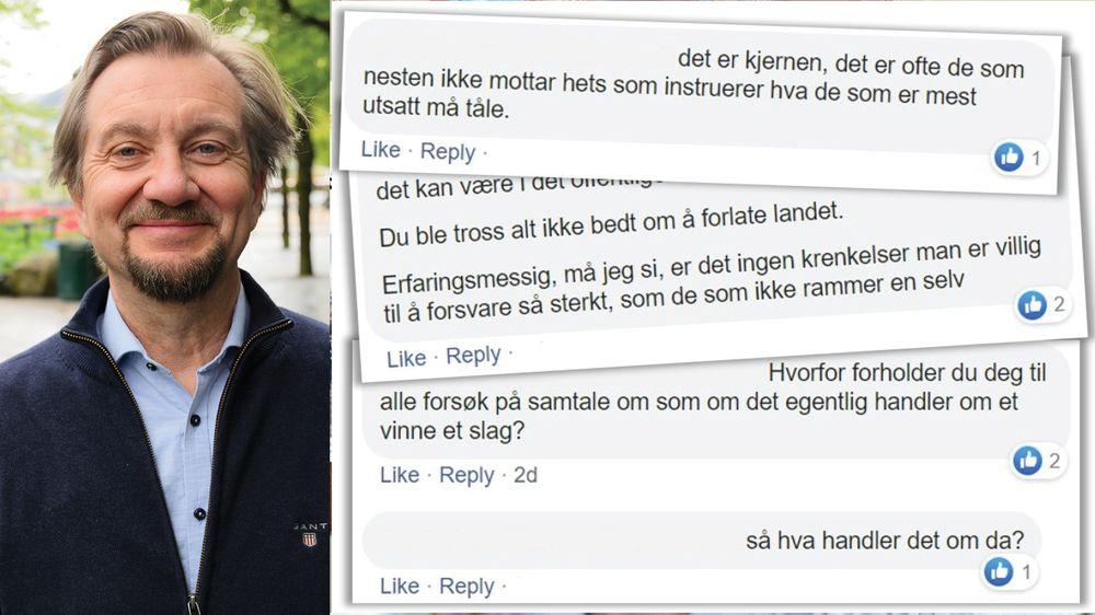 c6e6df0c Trygve Aas Olsen forteller om en helt vanlig dag på Facebook.