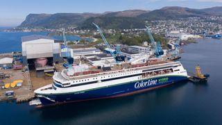 Roser vinneren av årets skip for å bruke norske leverandører