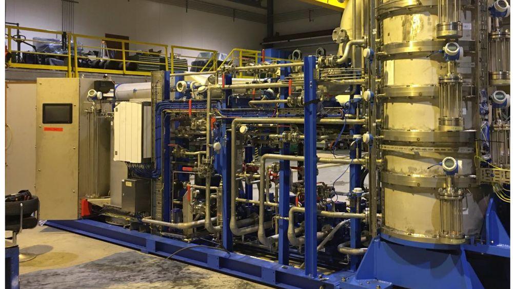Testanegget til 3C er mindre enn andre karbonfangstanlegg.