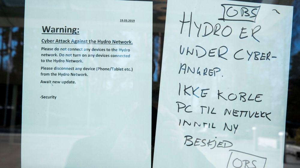 Dataangrepet på Hydro tidligere i år kostet selskapet mellom 300 og 350 millioner kroner.
