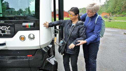 Signo Vivo, førerløs buss, EasyMile
