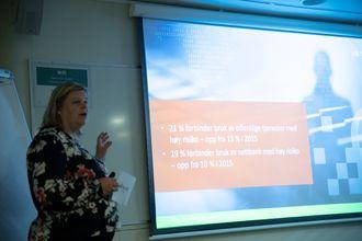 Direktør i NorSIS, Peggy Sandbekken Heie.