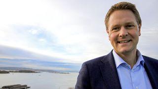 Administrerende direktør Harald Solberg i Rederiforbundet.