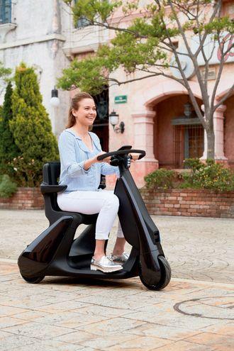 Personlig mobilitet fra Toyota. Kommer på markedet i 2021.