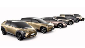 Disse konseptene skal gi et hint om Toyota-elbiler som kommer en gang neste tiår.