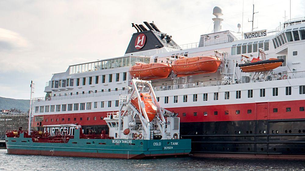 Bergen Tankers skal bygge om bunkringsfartøyet «Oslo Tank» til LNG-bunkring med 850 kubikkmeteres gasstank.