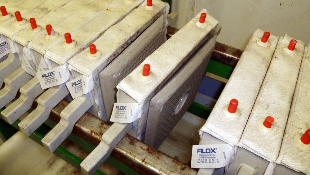 Metallproduktet har et sinkinnhold på 40–45 prosent, men det kan senere utvinnes slik at metallet kan gjenbrukes til takrenner og andre sinkprodukter.