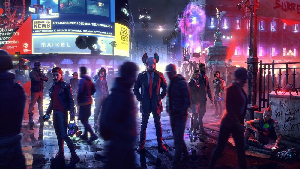 SNIKTITT: Watch Dogs: Legion