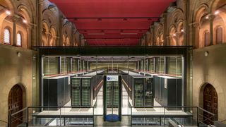 Superdatamaskinen MareNostrum 4 i Barcelona Supercomputing Center.