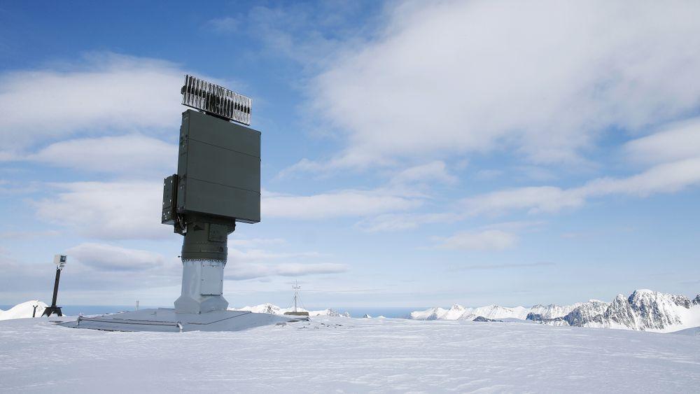 Sindre II-radarene er de yngste i kjeden, her fra Innhesten på Senja i Troms.