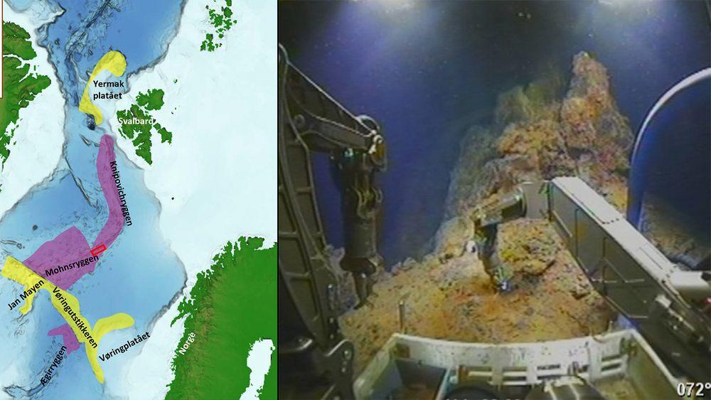 Oljedirektoratet er nå på nytt tokt i Norskehavet for å lete etter flere områder som kan inneholde havbunnsmineraler. I fjor gjorde de et funn som viste seg å inneholde høye andeler industrimetaller.