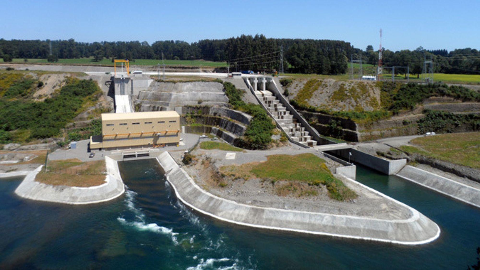Chile er et satsingsområde for Statkraft. Fra før eier de vannkraftverket Rucatayo (bildet) på 304 GWh og halvparten av kraftverkene La Higuera (761 GWh), ogLa Confluencia (672 GWh).
