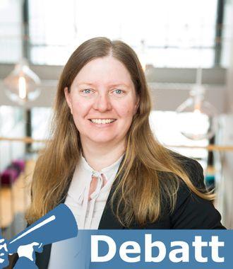 Solveig Jerijærvi, Agency Director i Sopra Steria.