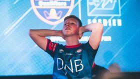 Slik så Magnus Myhrhaug Kristiansen ut etter at finaleseieren var et faktum.