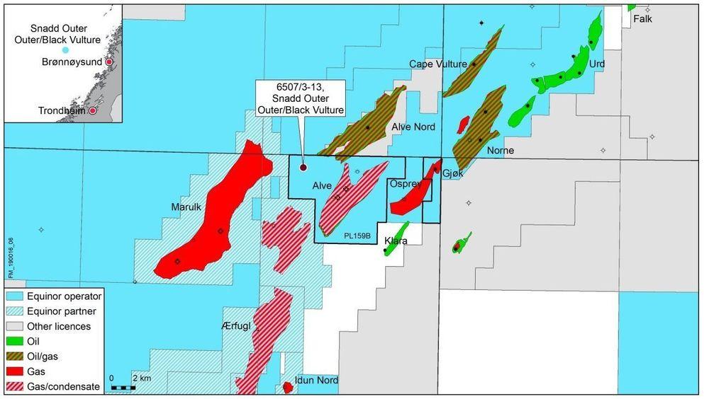 Equinor har funnet olje og gass i Norskehavet.