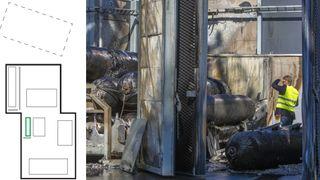 Lekkasje fra hydrogentank var årsaken til eksplosjonen