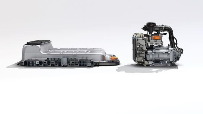 Nytt batteri og ny motor.