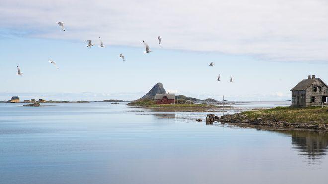 Røst i Lofoten i Nordland.