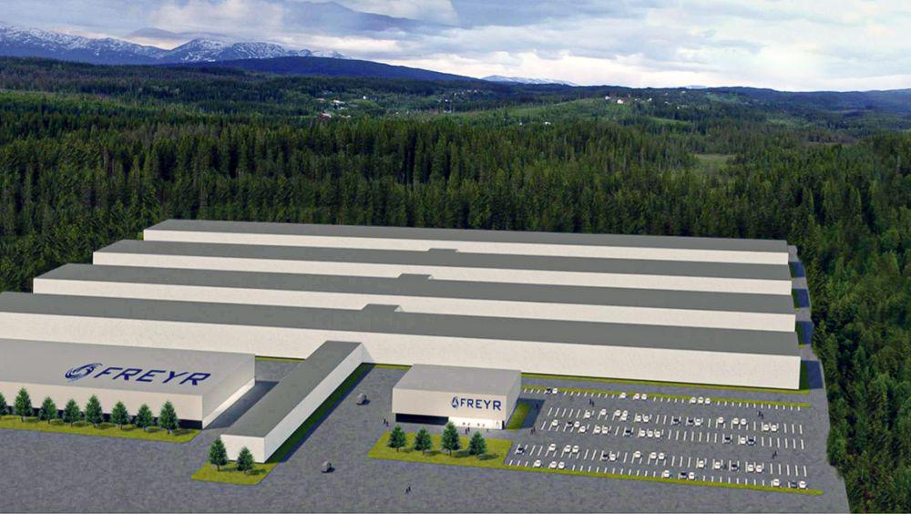 """Gigantisk: Litiumionefabrikken i Mo i Rana vil bli en ekte """"gigafacttory"""". Men Europa trenger mange flere av dem."""