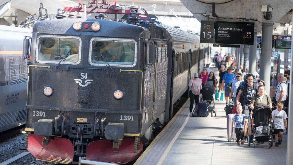 SJ vant anbudet om å drive togtrafikken på Dovrebanen, Rørosbanen, Raumabanen, Nordlandsbanen, Trønderbanen, Meråkerbanen og Saltenpendelen.