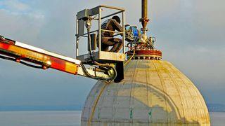 Massive betongkuler på havbunnen kan bli framtidens strømlager
