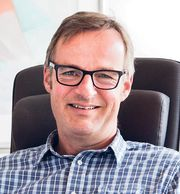 Konsernsjef Magnus Brask Rustad i Motorgruppen