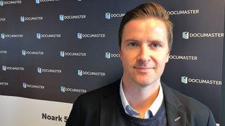 Anders Johnsen, daglig leder i Documaster.