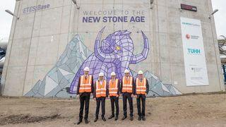 Ny trend: Det tyske prosjektet er bare ett av flere som bruker stein til å lagre fornybar energi