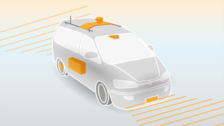 Selvkjørende biler må ha mye teknologi på plass.
