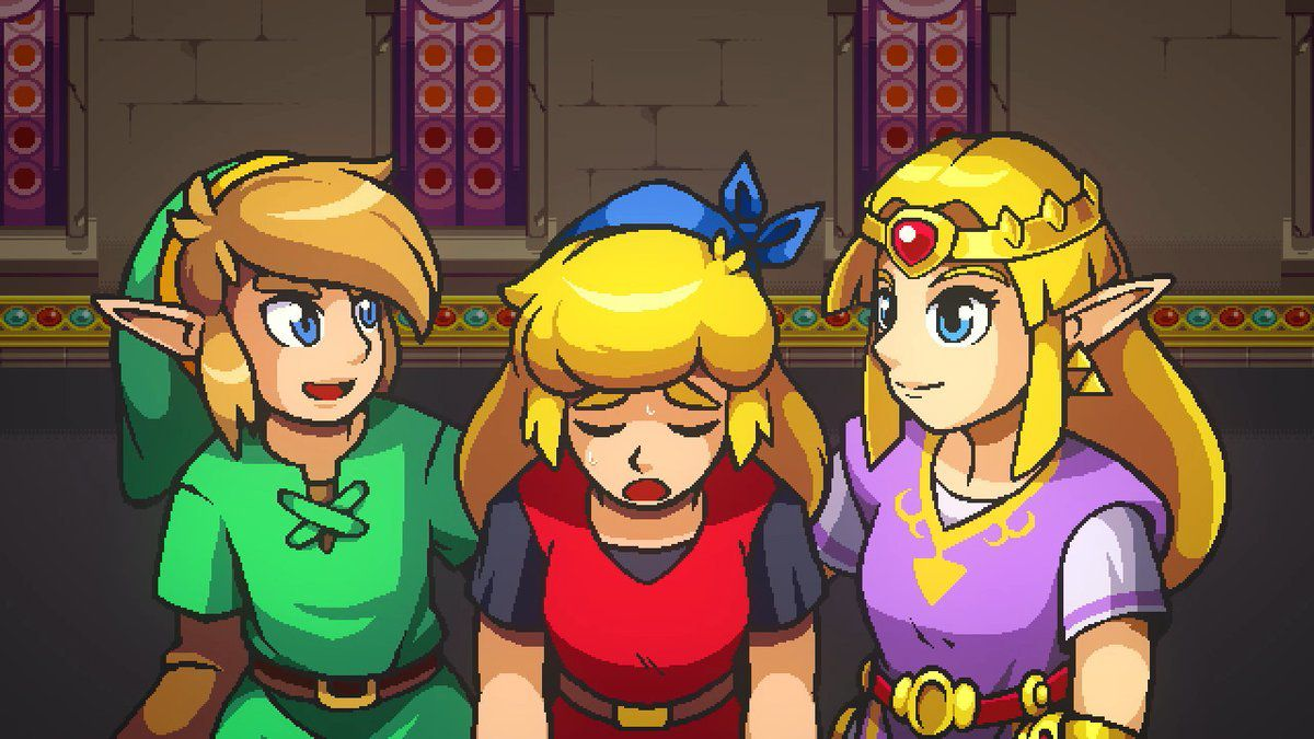 Note Cadence Of Hyrule Gamer No