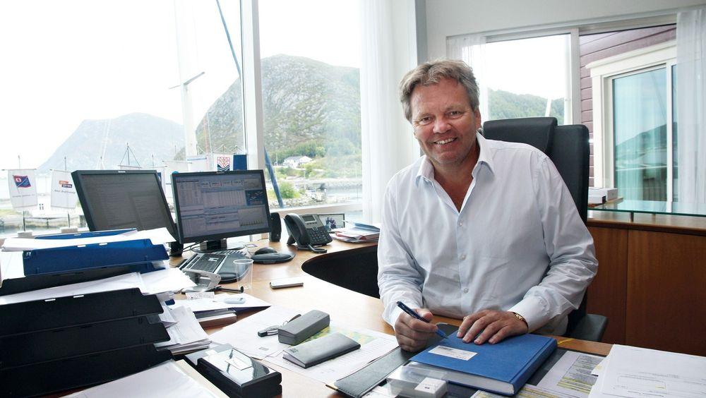 Stig Remøy og hans selskap Rimfrost tjener om sider penger på krill.