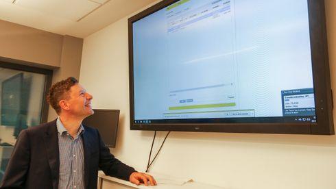 Svein Kristian Reiersen er virksomhetsleder i Lyse Elnett.