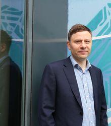 Svein Kristian Reiersen, virksomhetsleder i Lyse Elnett.