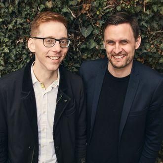 Gudmundur Hreidarsson og Rune Mai. Foto.