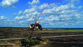 Boeing Phantom Works skal bidra til norsk artilleri-ammunisjon med ekstrem rekkevidde
