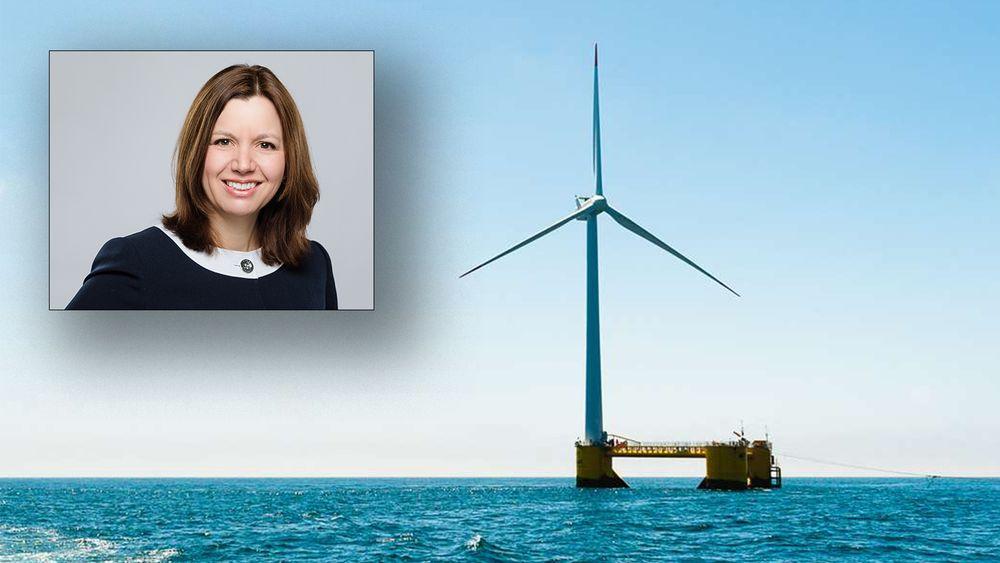 Astrid Skarheim Onsum leder havvindsatsingen til Aker Solutions. Hun tror havvind blir den største nyvinningen på energiområdet de nærmeste årene, og har tro på at Norge her kan ta en ledende rolle.