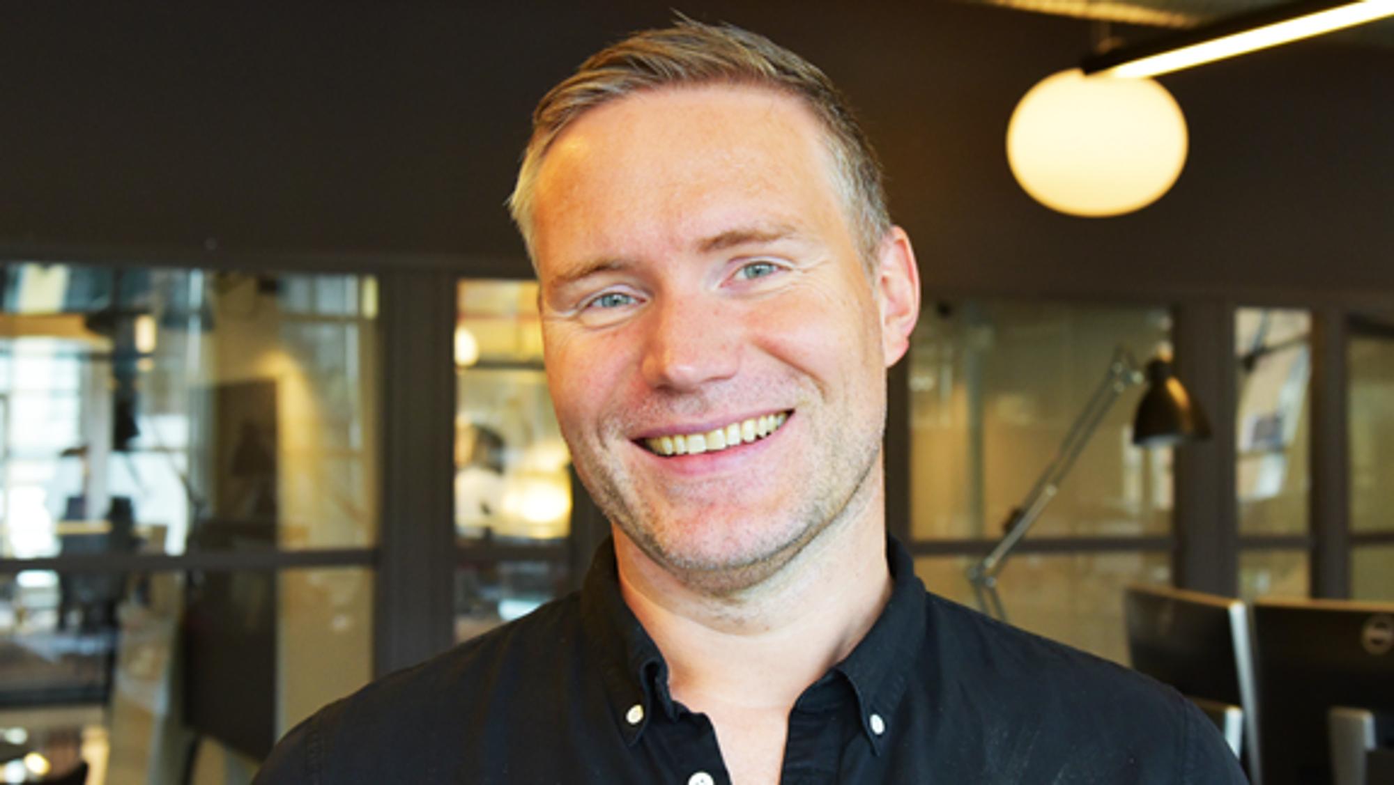 Jostein Kornes starter i den nye jobben 1. juli.