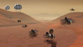 Sender drone til Saturns måne Titan