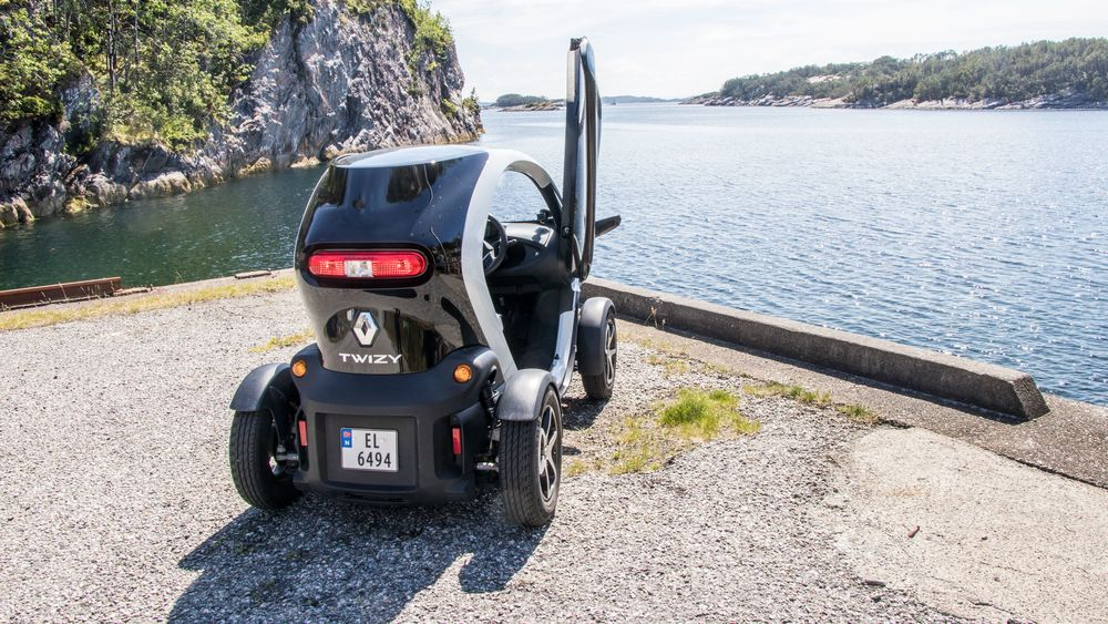 Renault Twizy er en populær doning på Vestlandet, ifølge Renault.