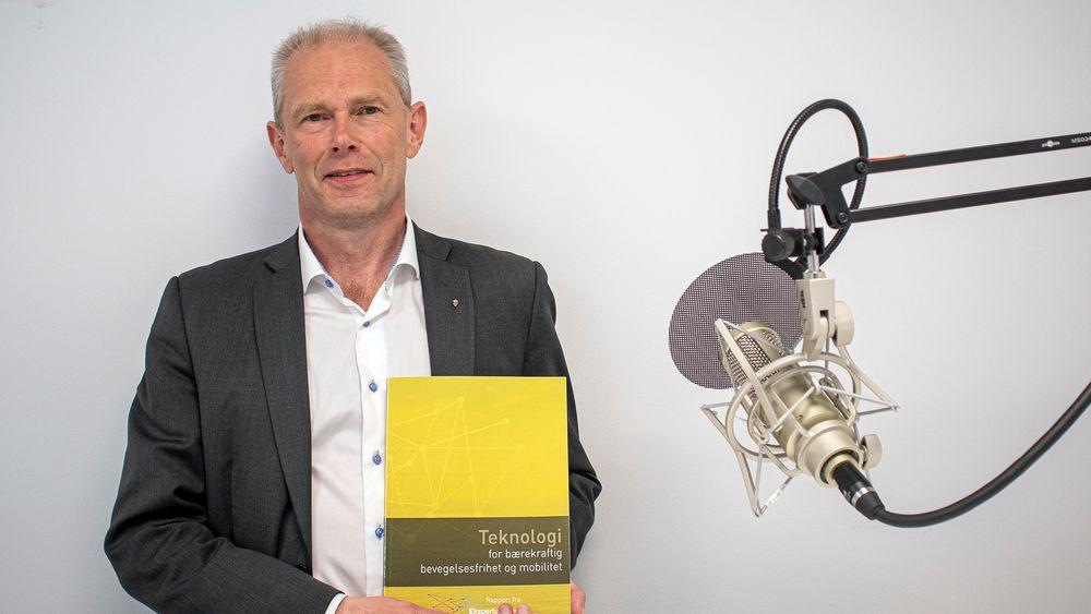 John-Mikal Størdal har ledet utvalget som har sett på de teknologitrendene som vil prege transportstrukturen i lang tid framover.