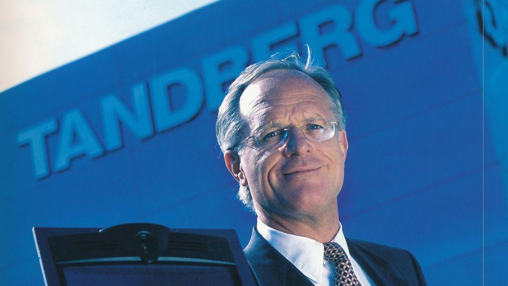 Fronter Tandberg: Med Jan Christian Opsahls om styreformann ble Tandberg verdens ledende selskap innen videokonferanse.