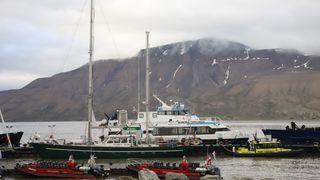 At mannskapet snakket fransk hindret større ulykke på Svalbard