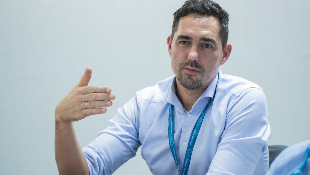 Vegard Frihammer, direktør i hydrogenselskapet Greenstat.