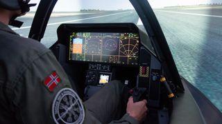 De første bildene: Her trener Norges F-35-piloter på de mest ekstreme operasjonene