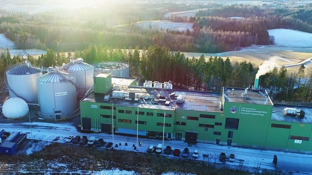 Romerike biogassanlegg.